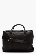 A.P.C. Black Structured Duffle Bag for men