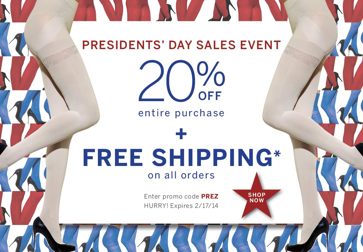 Use promo code PREZ for Free Shipping with no minimums PLUS 20% off your entire order.