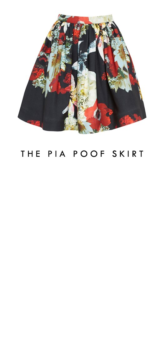 Pia Poof Skirt