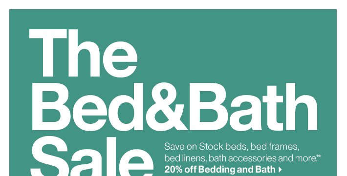 The Bed&Bath Sale