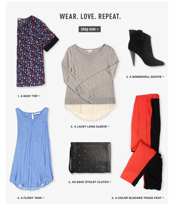 Wear. Love. Repeat. | Shop Now