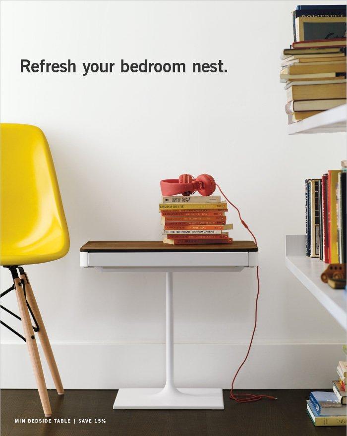Refresh your bedroom nest.