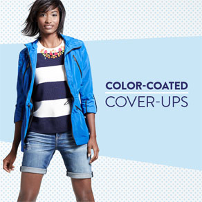 COLOR-COATED COVER-UPS