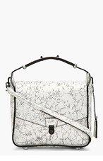 3.1 PHILLIP LIM White Crackled Wednesday Shoulder Bag for women
