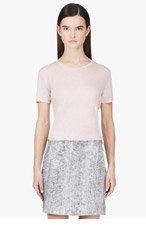 J BRAND Pink Slub Horizon Kiki t-shirt for women