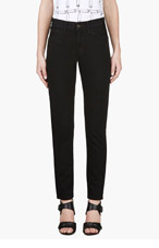 LEVI'S VINTAGE CLOTHING Black 1960'S 606 Slim Jeans for women