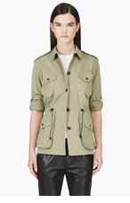 RAG & BONE Khaki Green Cotton Jacket for women