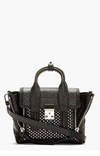 3.1 PHILLIP LIM Black & Silver Mini Pashli Shoulder Bag for women
