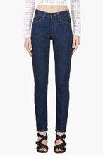 LEVI'S VINTAGE CLOTHING Dark blue 1960's 606 Slim Jeans for women