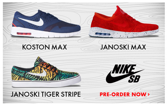 Hot Nike SB Shoes available for pre-order now!