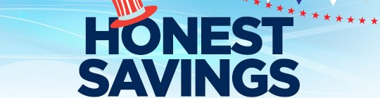 HONEST SAVINGS