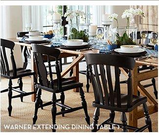 WARNER EXTENDING DINING TABLE