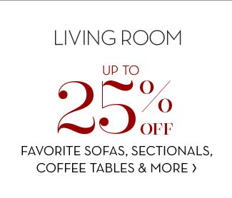 FAVORITE SOFAS, SECTIONALS, COFFEE TABLES & MORE