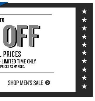Up to 60% Off Original Prices