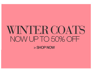 Shop Winter Coats, Up to 50% Off