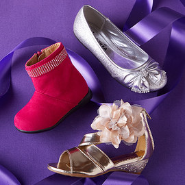 Shining Steps: Girls' Shoes