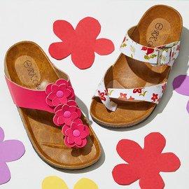 Jewel Tones & Floral Prints: Footwear