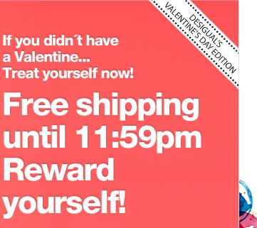 Free shipping until 23:59h Reward yourself!