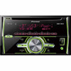Pioneer FH-X70BT Double Din Single CD Receiver with Built-in Bluetooth, 2-Line Display, MIXTRAX, Android, Pandora, USB, Aux