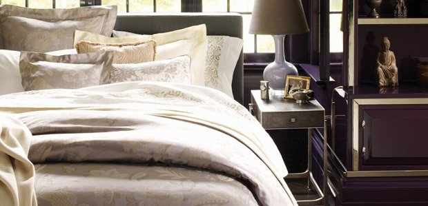 Sunday Sleep-In: Luxe Bedding by SFERRA & More