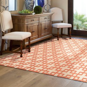 Freshen the Floors: With Patterned Flatweave Rugs