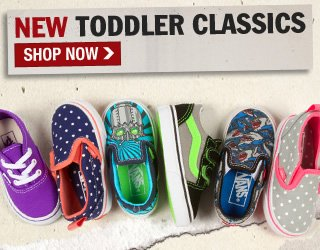 Shop New Toddler Classic Shoes!