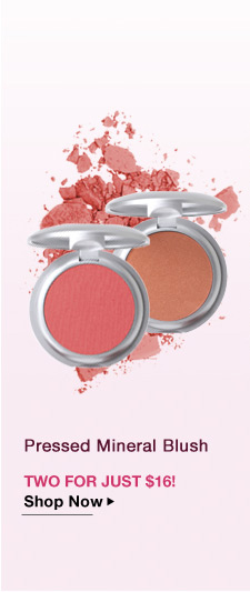 2 Pressed Mineral Blush for Just $16