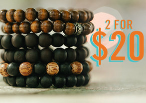 Shop 2 for $20: Beaded Bracelets & More