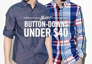 Shop Best Button-Downs Under $40