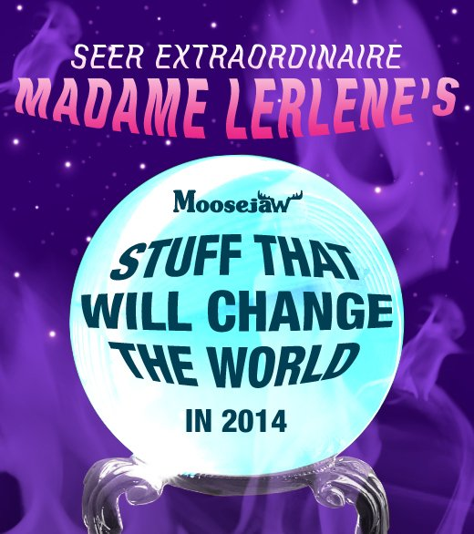 Seer Extraordinaire Madame Lerlene's items that will change the world