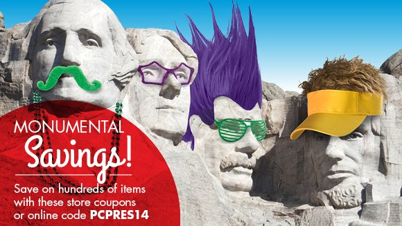 Monumental Savings!