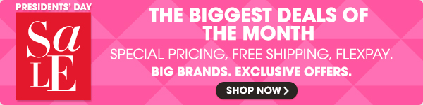 THE BIGGEST DEALS OF THE MONTH | BIG BRANDS. EXCLUSIVE OFFERS. | SHOP NOW