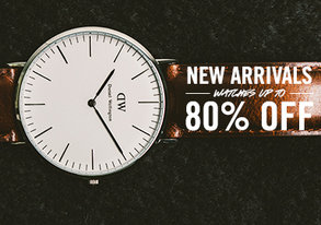 Shop New Arrivals: Watches Up to 80% Off