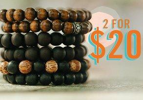 Shop 2 for $20: Beaded Bracelets & More