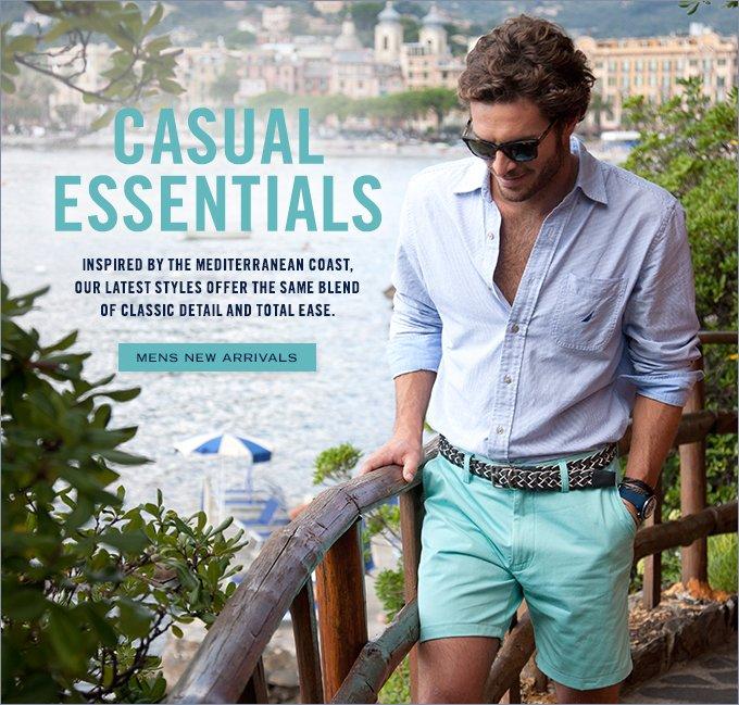 Casual Essentials. Shop Men's New Arrivals.