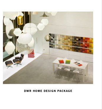 DWR HOME DESIGN PACKAGE