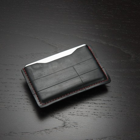 NOSO Slim Wallet // Fire Red