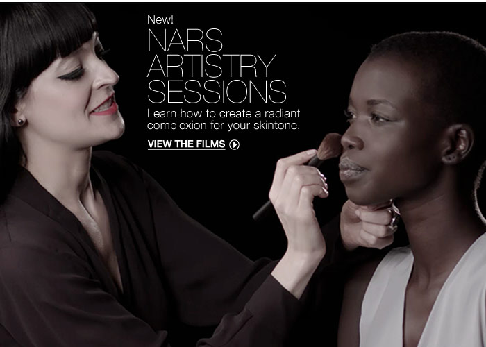 New! NARS Artistry Sessions.