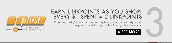 Earn linkpoints as you shop