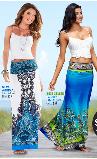 Timeless Style, Discover the MAXI SKIRT!