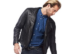 Downtown Style: Leather Jackets & More