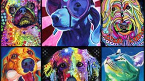 Colorful Art for the Animal Lover