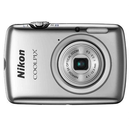 Adorama - Nikon Coolpix S01 10.1 Megapixel Digital Camera, Silver - Refurbished