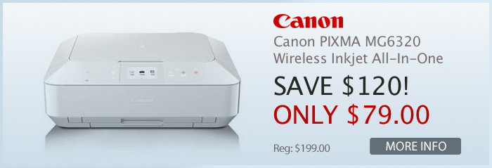 Adorama - Canon PIXMA MG6320 Wireless Inkjet Photo All-In-One Printer