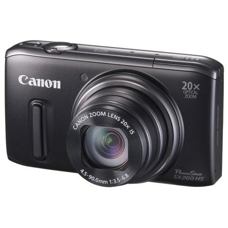 Adorama - Canon PowerShot SX260 HS Digital Camera