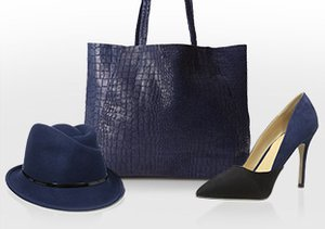 Winter Blues: Shoes, Bags & More