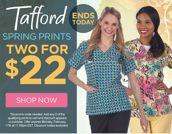 Tafford Spring Prints 2 for $22 - Shop Now