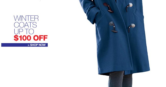 Winter Jackets, Up to $100 Off