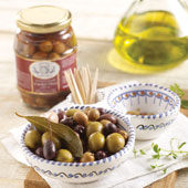 Mixed Olives with Herbs