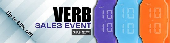 Save up to 65% during the Verb Watches sales event